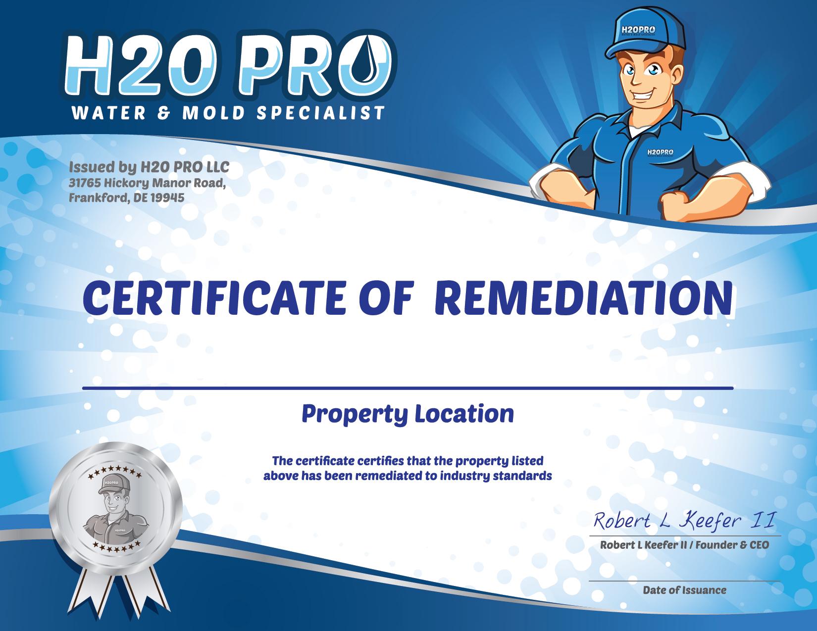 25 Year Mold Warranty