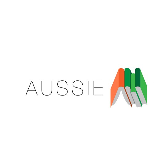 Aussie Writers- Fresh logo for an Australian company promoting emerging writers