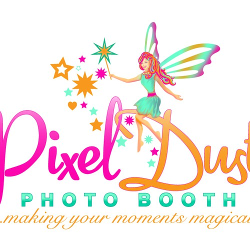 Logo for Pixel Dust Photo Booth
