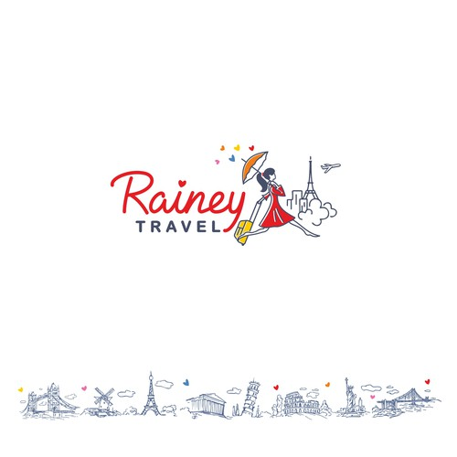 Rainy travel