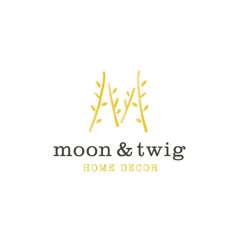 moon&twig home decor logo