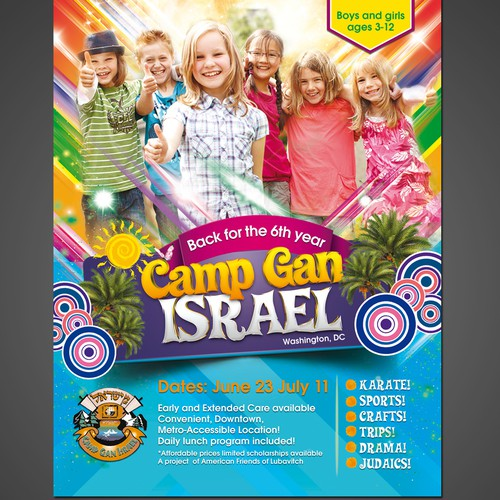 Design a Summer Camp Flyer