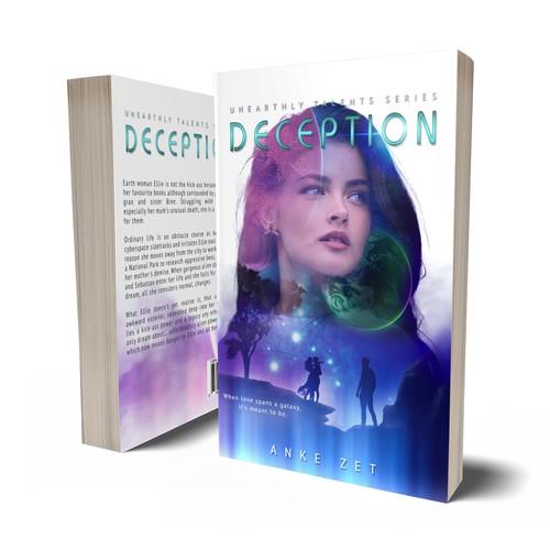 Soft Sci-Fi Romance book cover Version 2