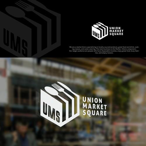 Union Market Square Logo Design