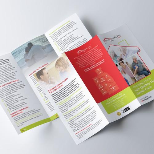 at homehealth, inc. Tri-Fold Brochure