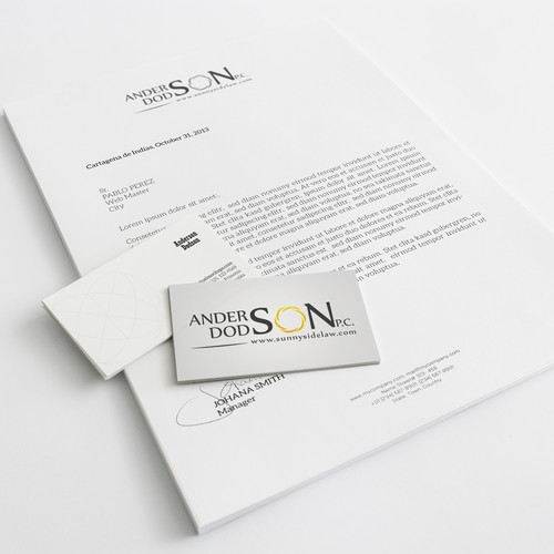 Fun logo design project for law firm