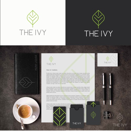 clean, simple and elegant for the ivy