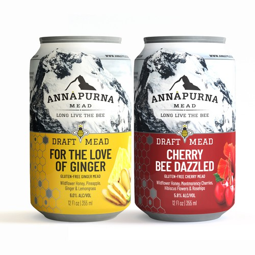 Labels for Annapurna Mead
