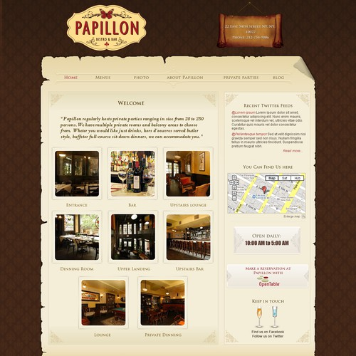 Top NYC Bar & Bistro Needs WordPress Theme