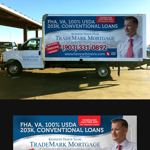 TradeMark Mortgage Truck design