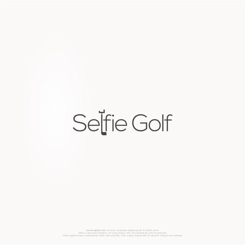 selfie design with minimalist concept