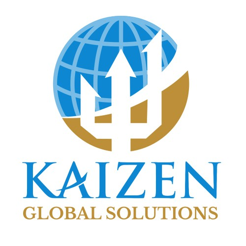 Modern logo for global solutions company