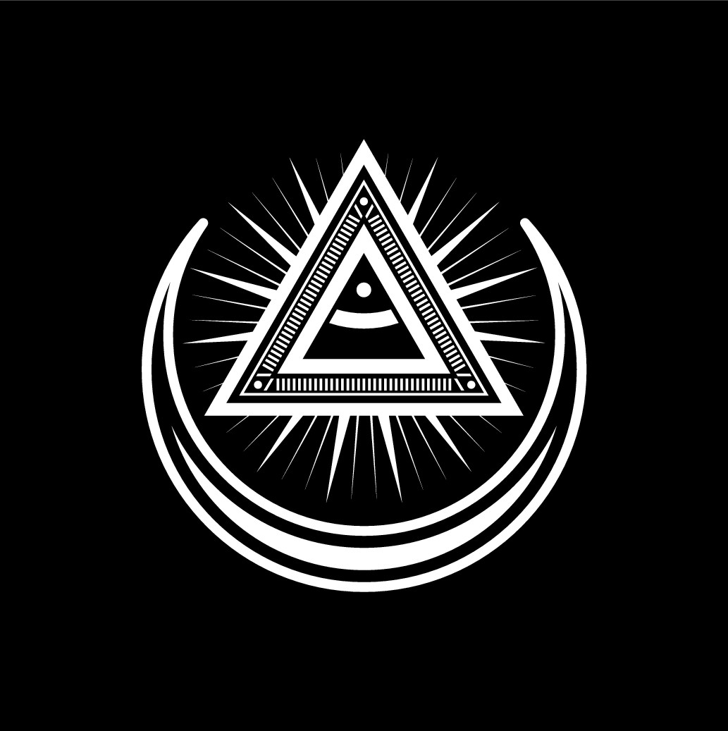 Create a mystic/occult logo for Astr.ooo