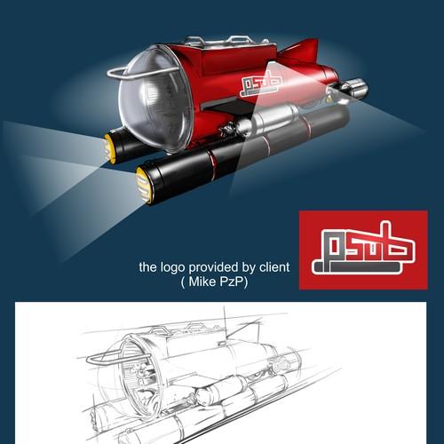 Personal Submarine Concept Design
