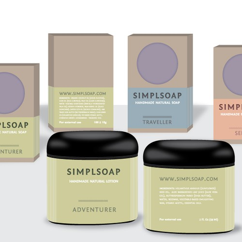 You can create a winning design for SimplSoap!