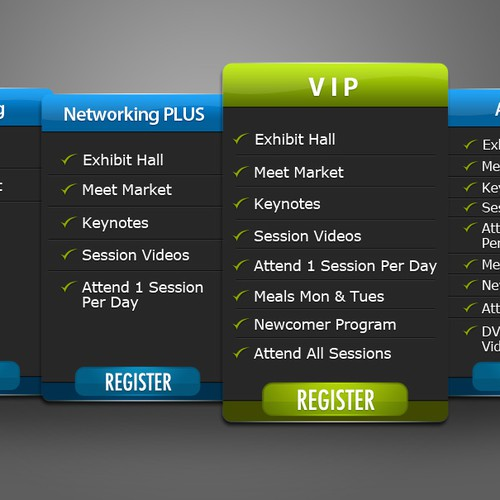Create a Pricing Table ad for Affiliate Summit