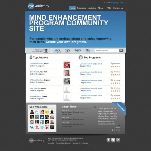 Mind enhancement community site