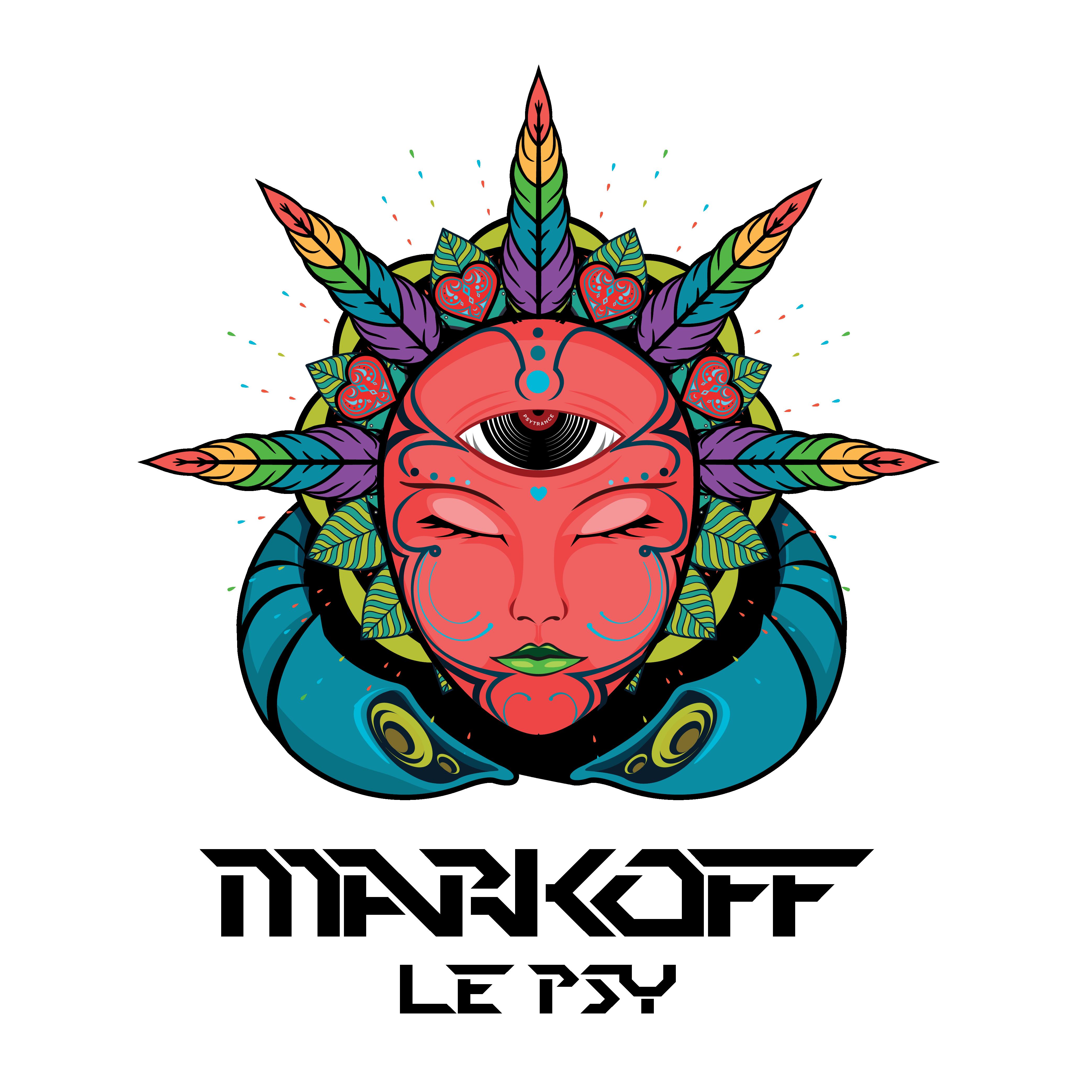 Logo Psychédélique / Trance - Coeur