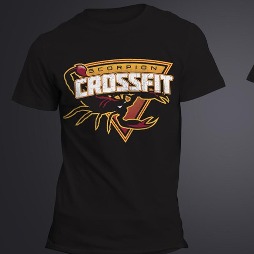 Create a t shirt design for Scorpion CrossFit!