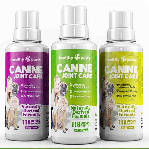 Label for pet supplement