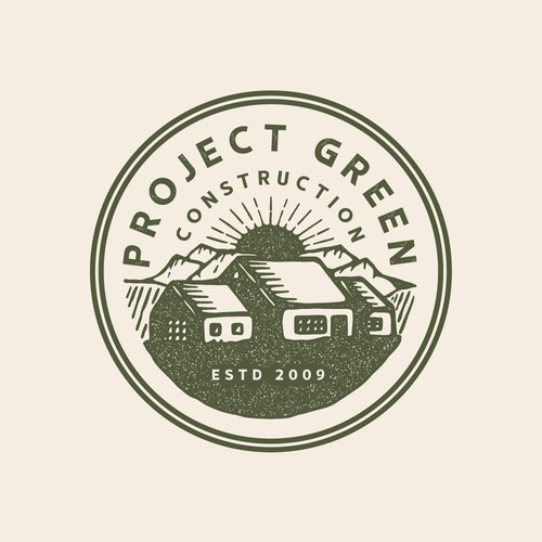 Vintage Project Green logo 🌄