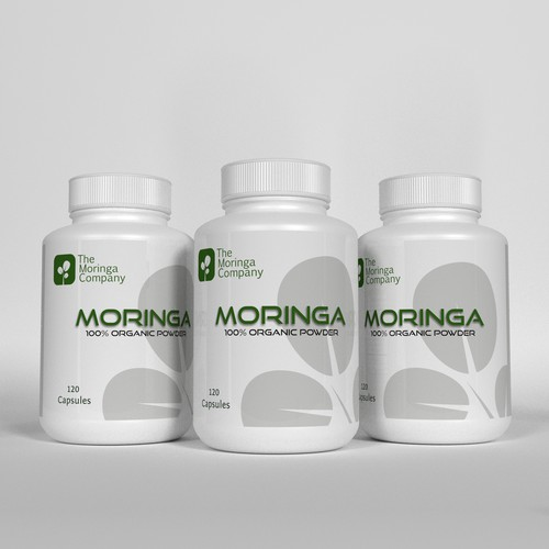 Label for Moringa company