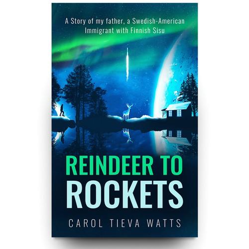 Reindeer to Rockets - Book Cover Design