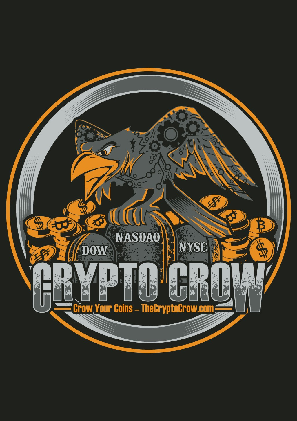 Youtuber: Crypto Crow - Merch Line You Can Grow With