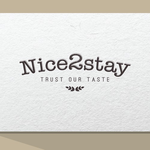 Surprise us with your creative design for Nice2stay!