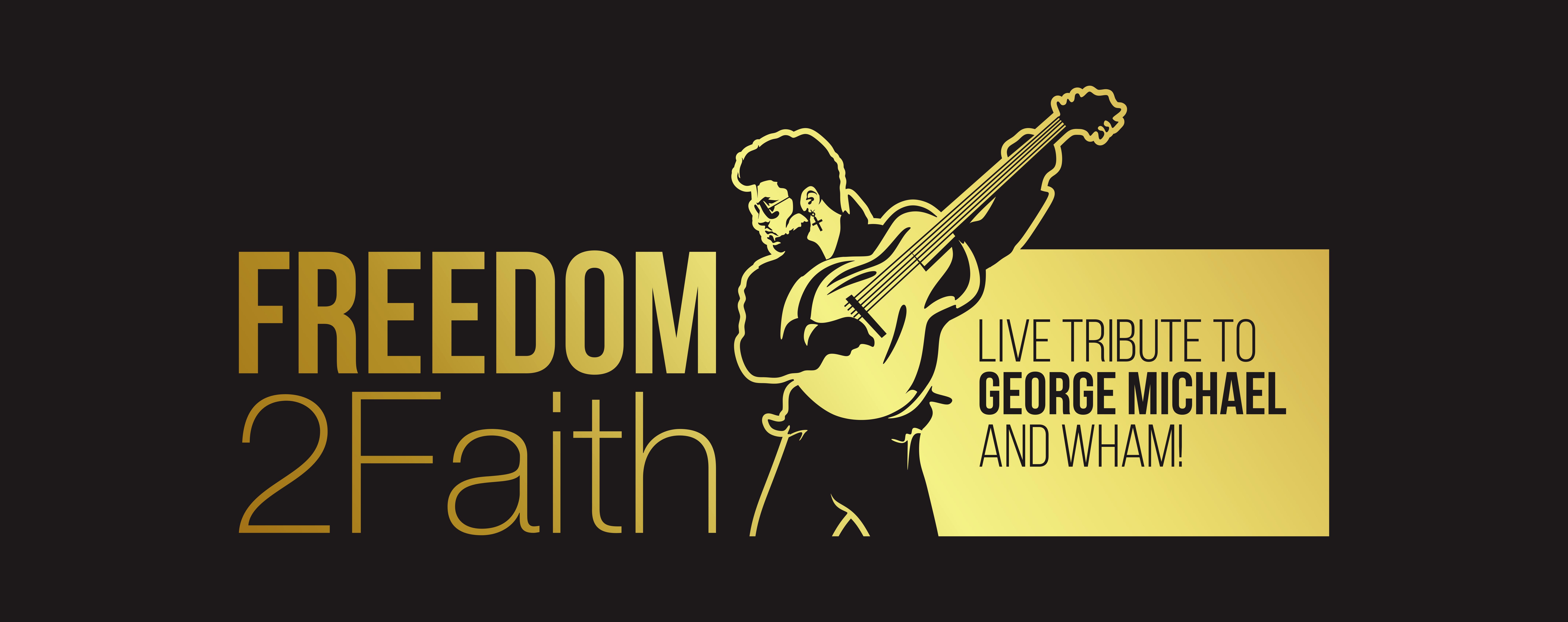 George Michael - Wham tribute band logo.