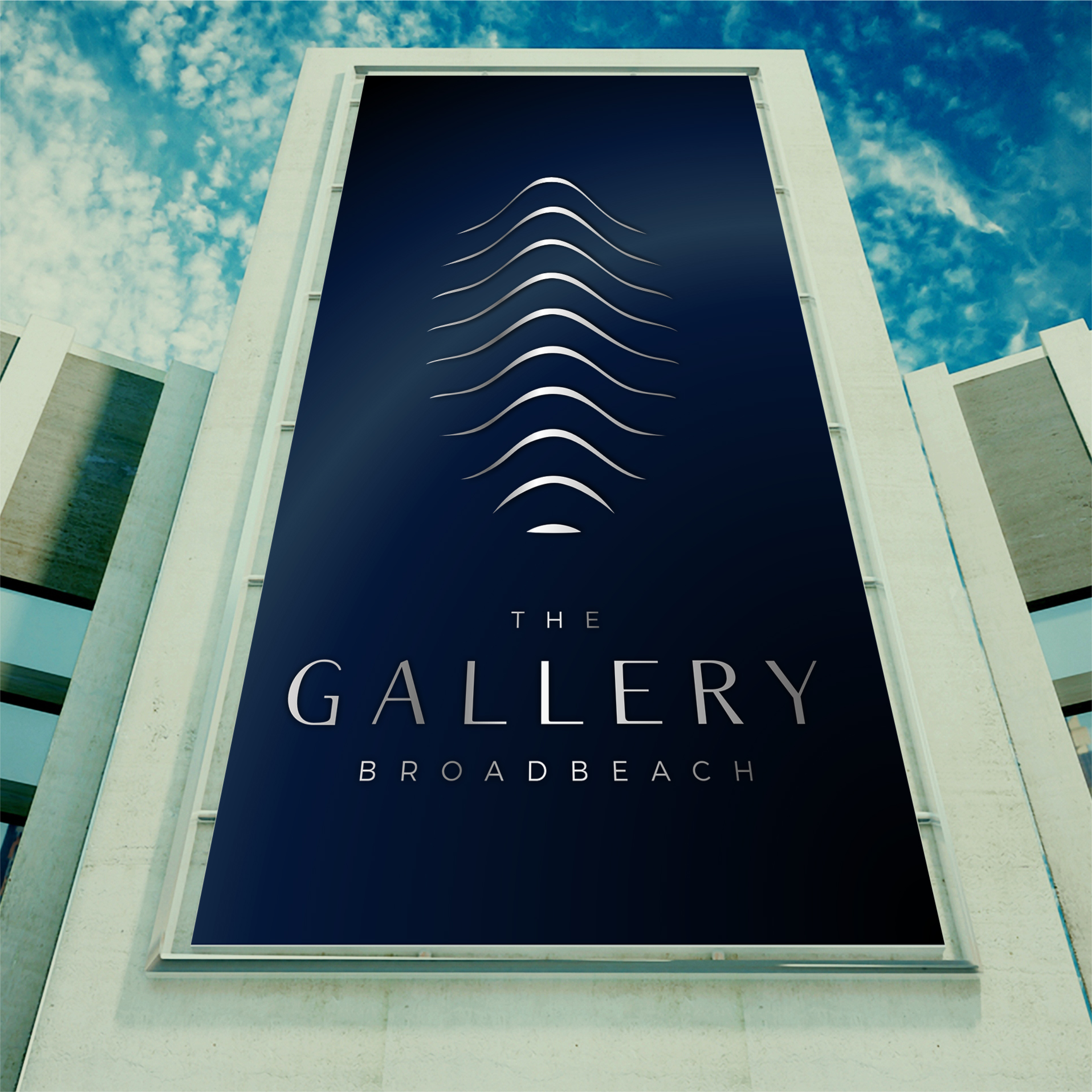 The Gallery Residential Building Logo