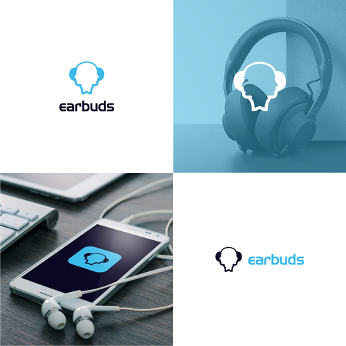 In contest EarBuds (social media platform) needs a sweet logo