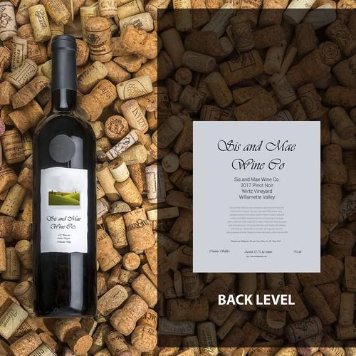 Wine Company Label design