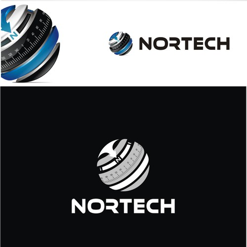 3D Logo For 'NORTECH'