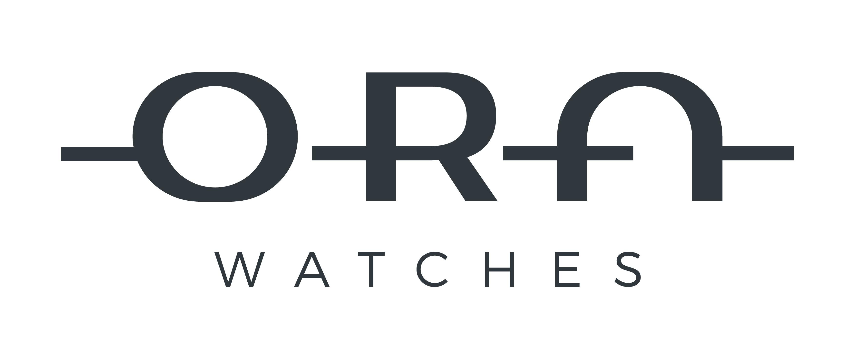 ORA eine neue Marke höchster Qualität am Armbanduhren Markt sucht ein Logo