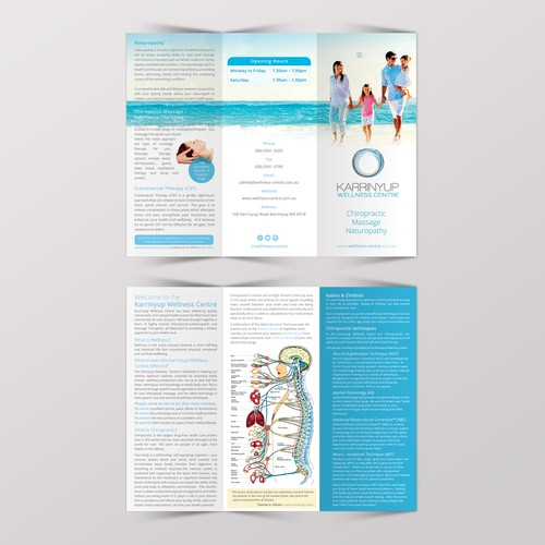Karrinyup Wellness Centre brochure