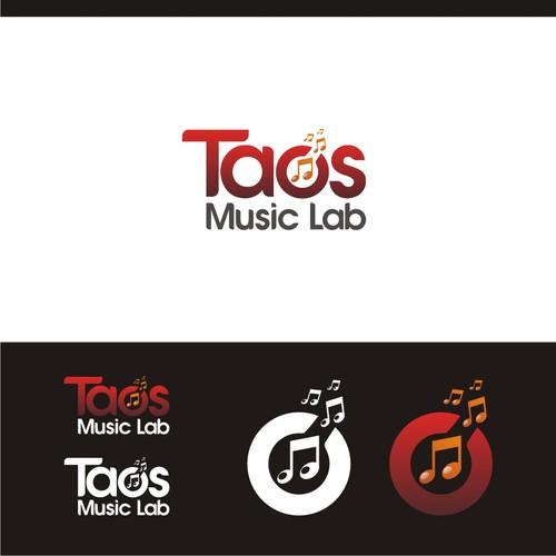 Logo for small music school