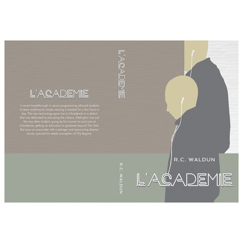 "Book cover for ""L'academie"""