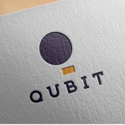 Create the brand design for qubit, a cutting edge software consulting company