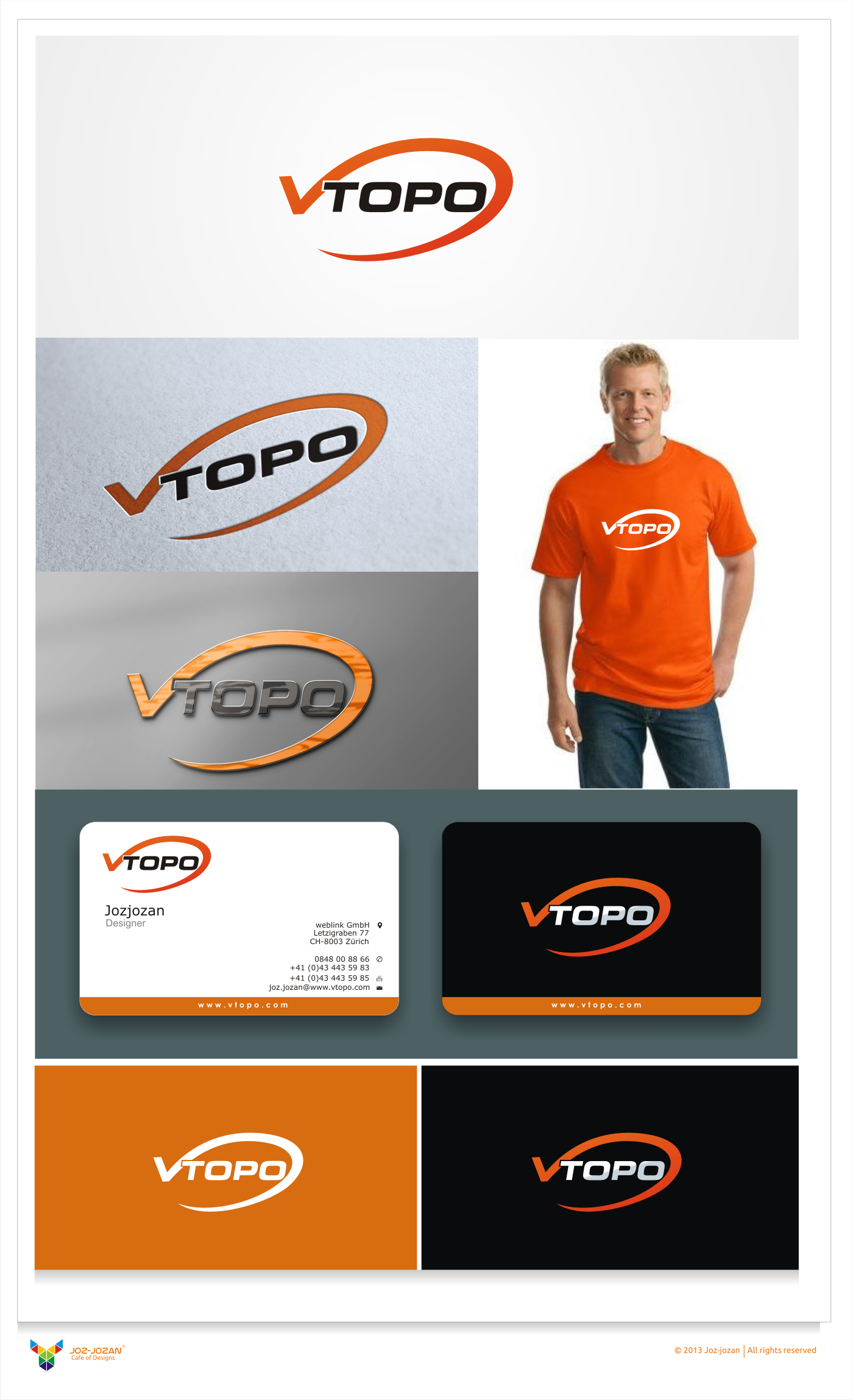 Créez le/la logo suivant(e) pour VTOPO