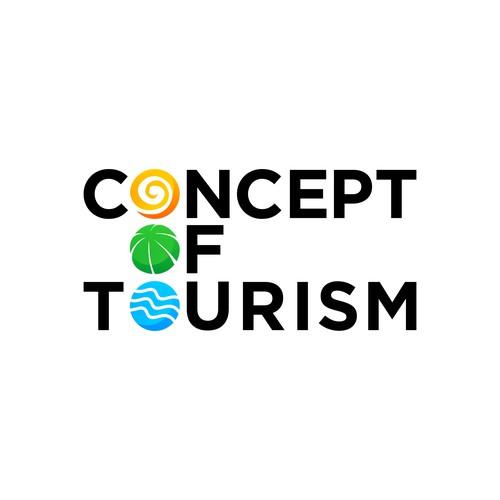 Concept of Tourism logo