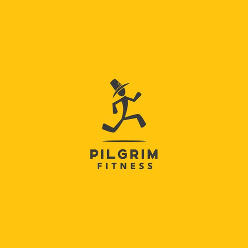 Dynamic and eye-catching fitness logo