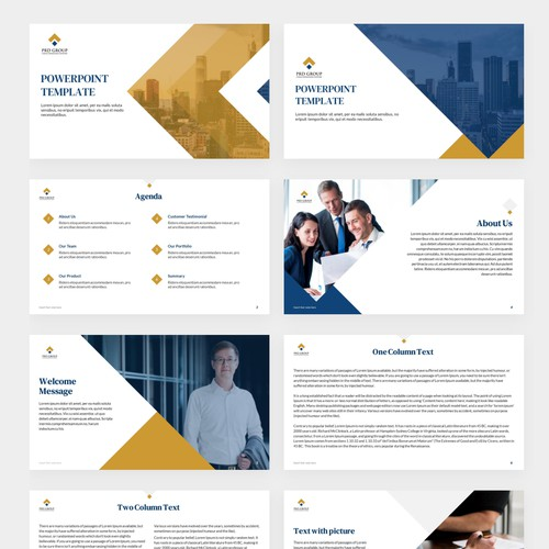 Powerpoint Template for PRD