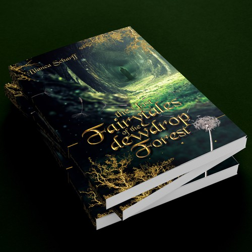Dark enchanted forest Book cover