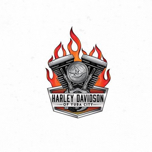 Logo for motorcycle dealership.