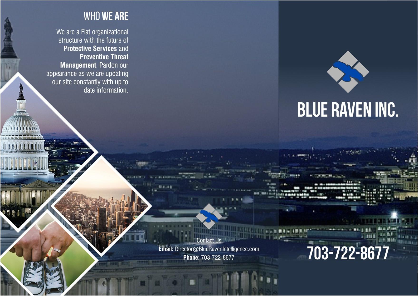 Blue Raven Brochure