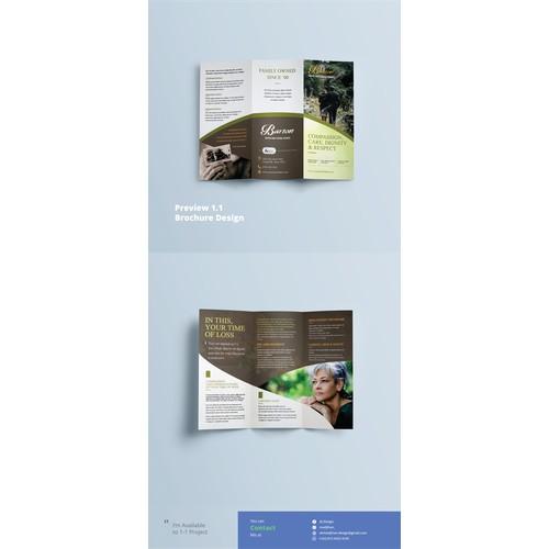 Trifold Brochure Design for Barton
