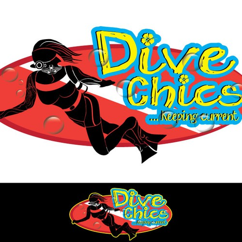Dive Chics ... needs a fun splashy logo.