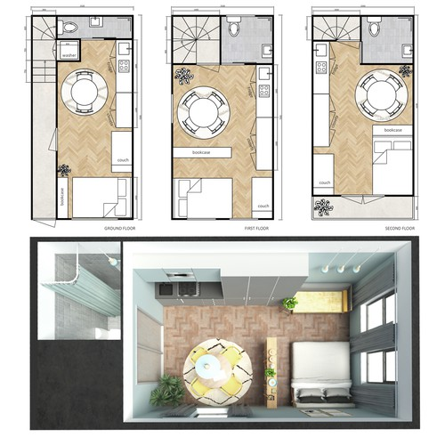 London apartment design