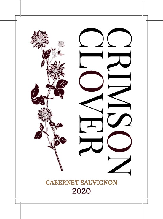 Wine label design to promote sustainable farming practices